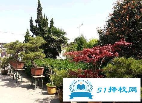 安徽省淮南技工学校环境图